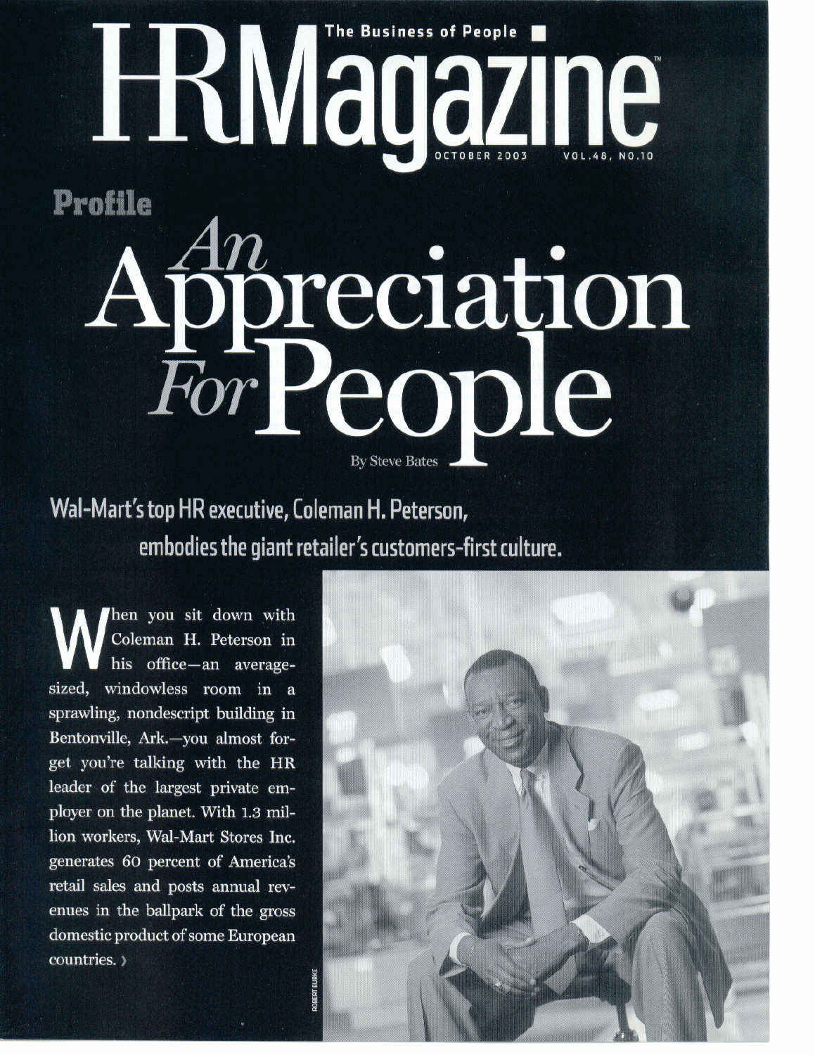 An Appreciation For People